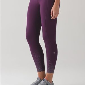 Lululemon thigh stuff thigh reflective
